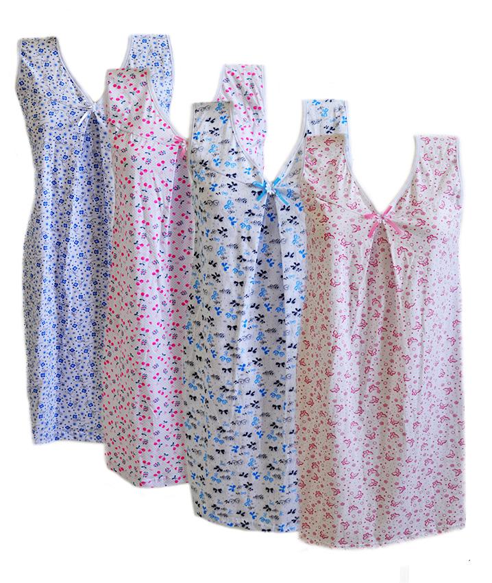 Женская ночная рубашка хлопок