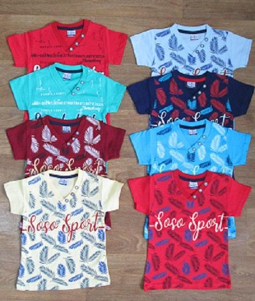 Турецкая футболка для мальчика хлопок с накатом