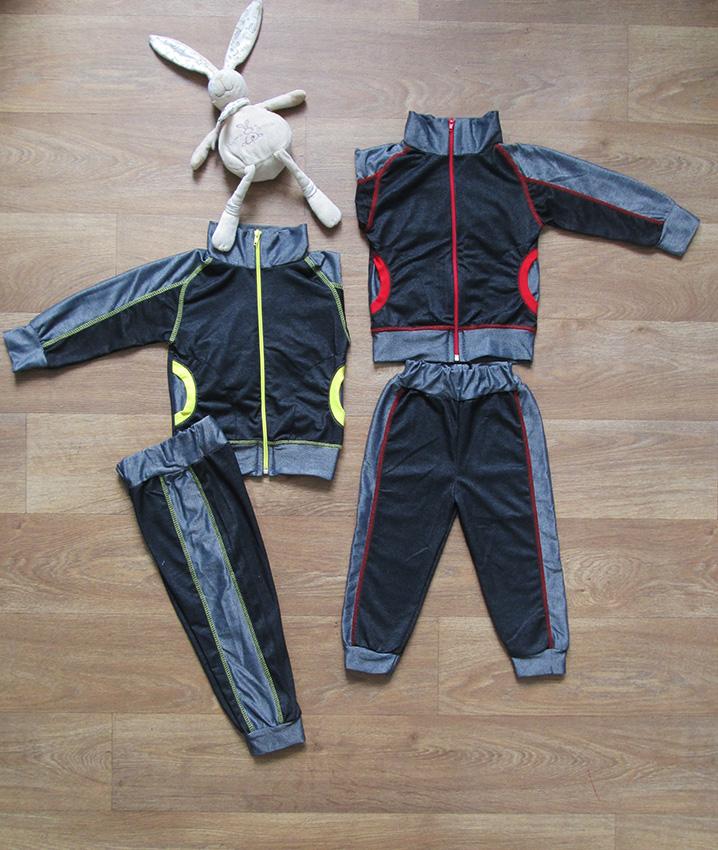 Детский спортивный костюм без капюшона