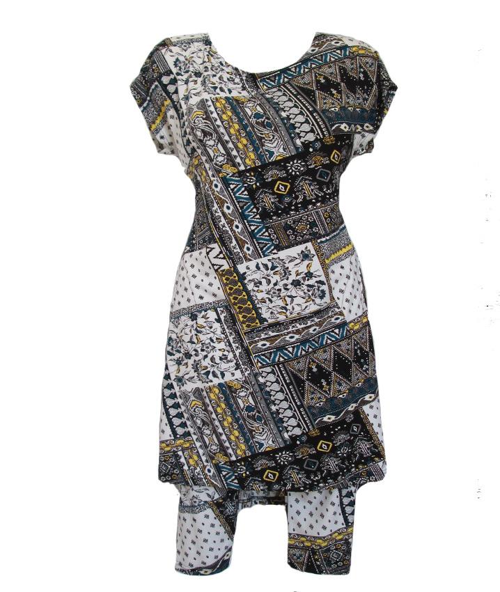 Женская туника с бриджами
