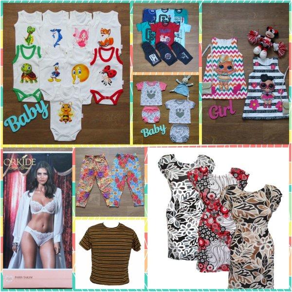 фотография детские вещи от производителя мир текстиля