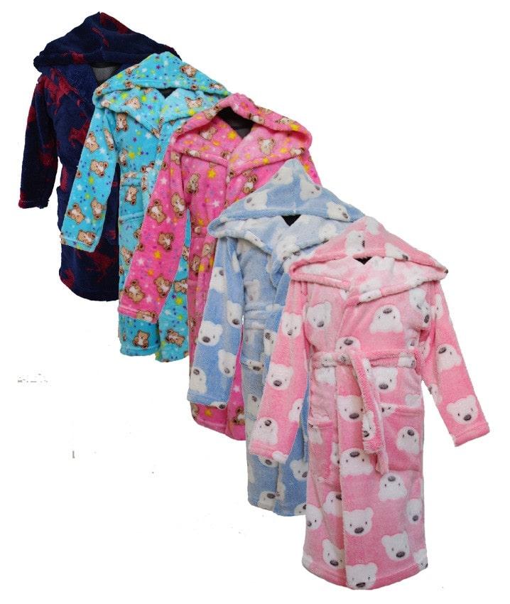 Фотография  детский халат теплый с капюшоном Одежда для мальчиков детская Украина, оптом и в розницу Мир Текстиля