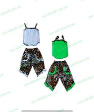 Летний костюм для девочки стрейчевый