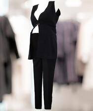 Женский костюм (брюки + жилетка) для будущих мам