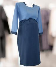 Женское платье с рукавом три четверти для будущих мам, трикотаж