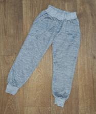 Детские теплые штаны с карманами, трехнитка на флисе