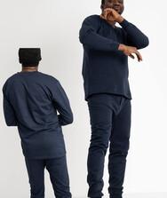 Нательное белье мужское (синий), начес