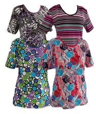 Летняя женская футболка, трикотажная вискоза