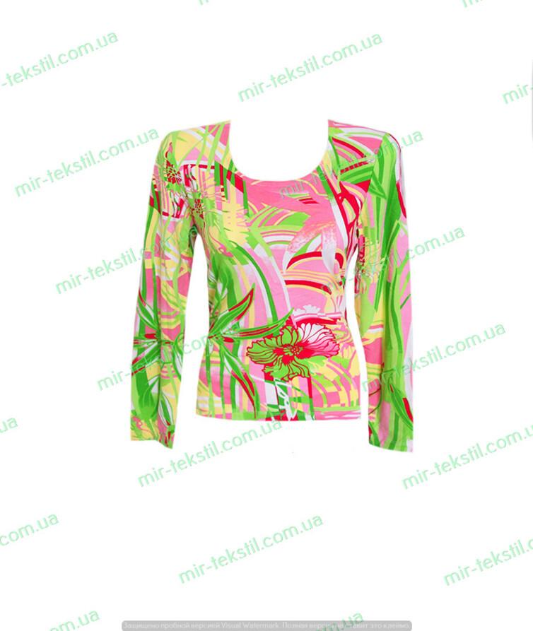 Блуза женская с длинным рукавом