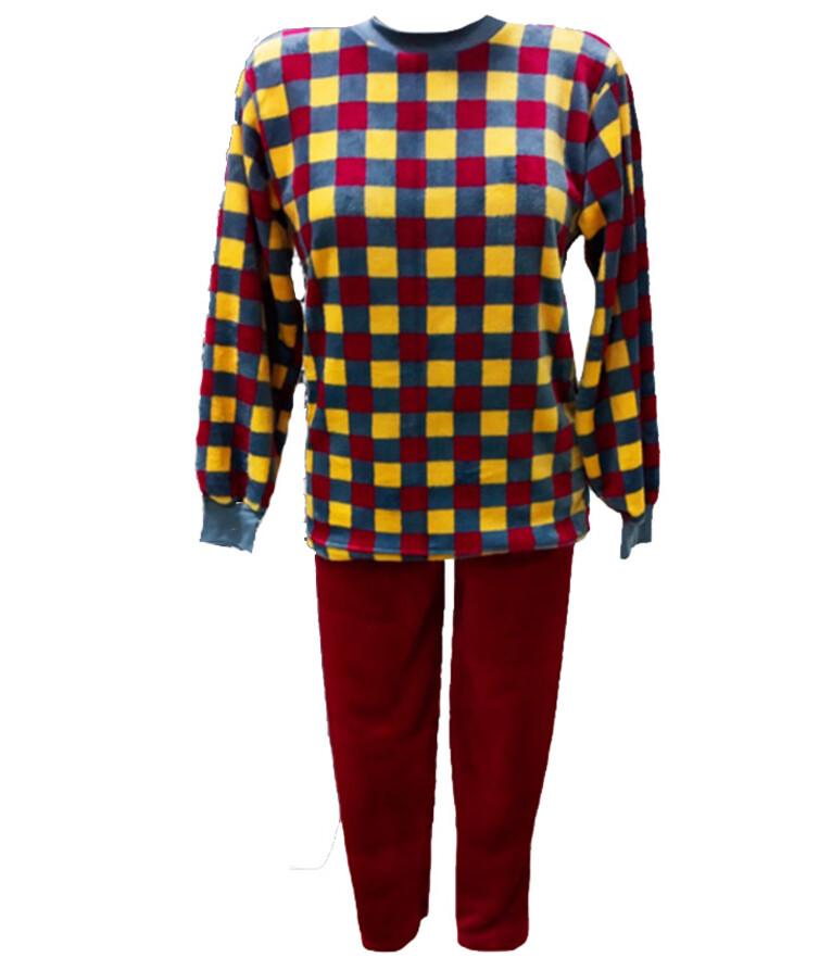 мужская пижама теплая вельсофт