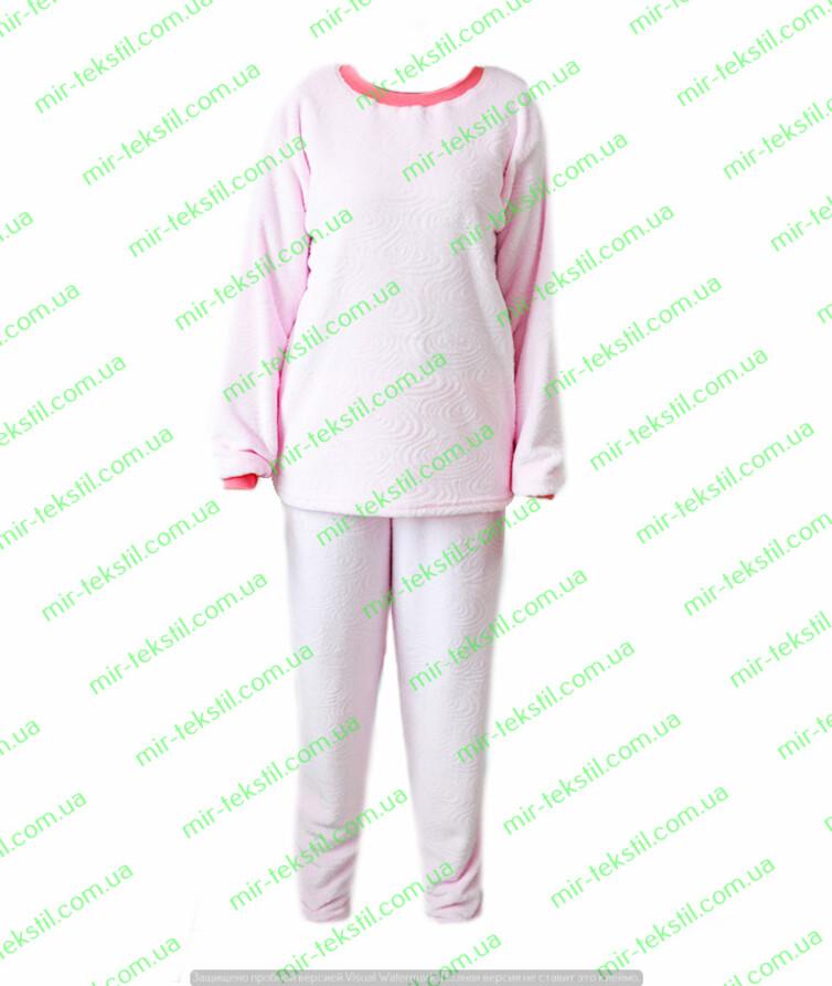 Пижама женская велсофт стриженный