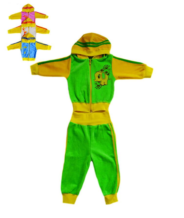 Ясельный костюм велюровый