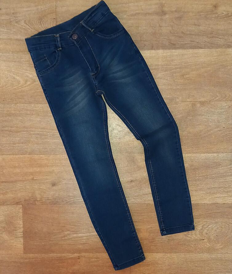 Турецкие джинсы для девочки (зауженные)