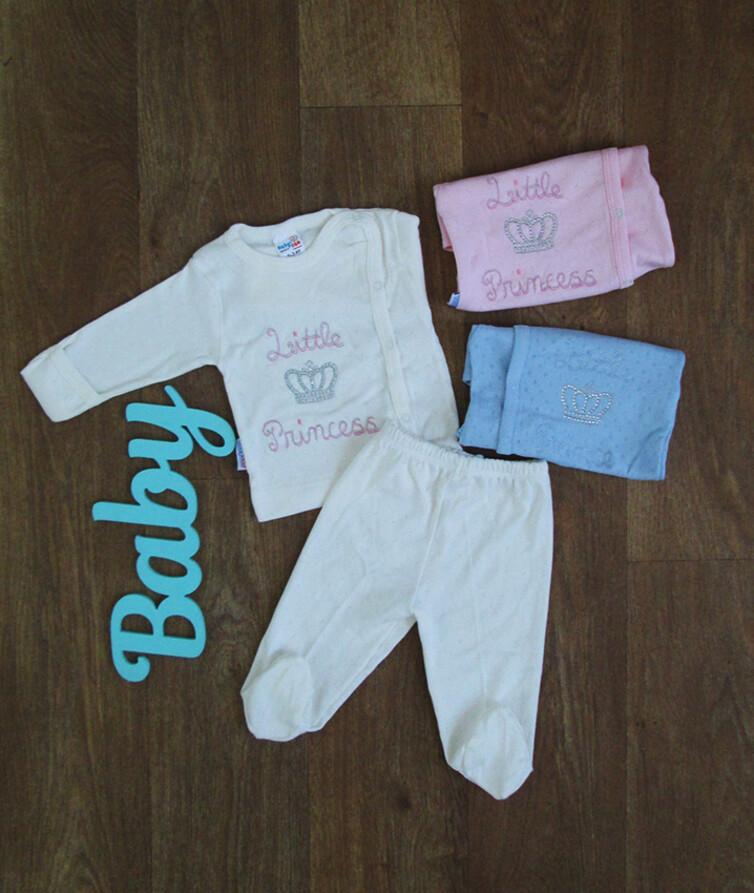 Костюм для новорожденного с вышивкой Турция, трансфер