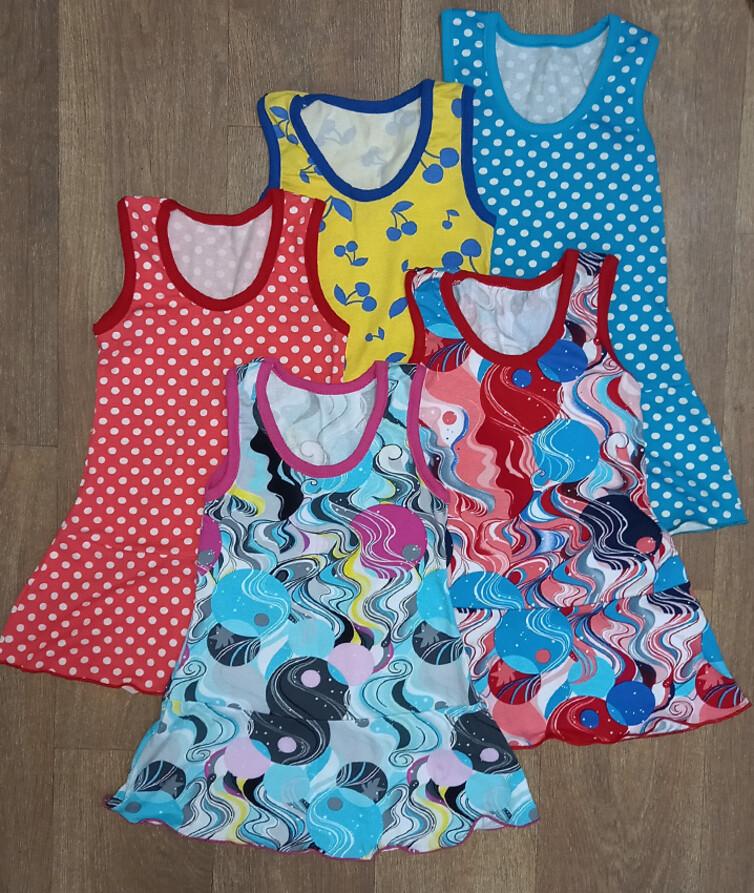 Детское платье на девочку, вискоза