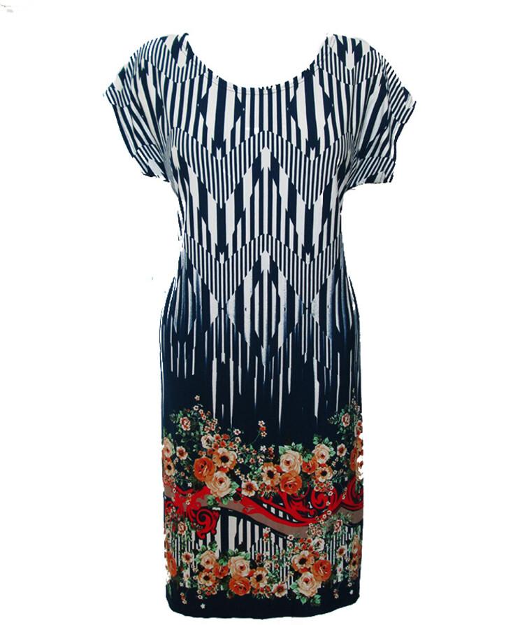 Летнее женское платье с выкотом