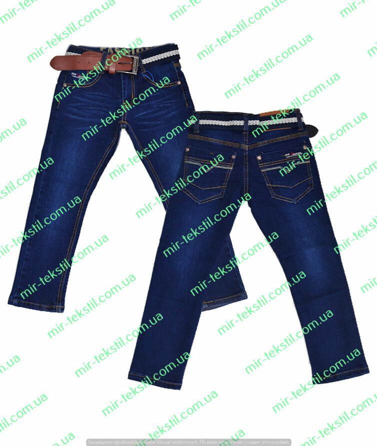 Турецкие джинсы на мальчика с поясом
