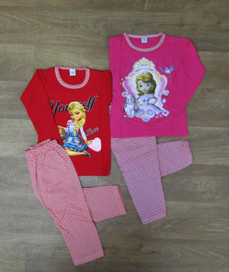 Пижама для девочки байка