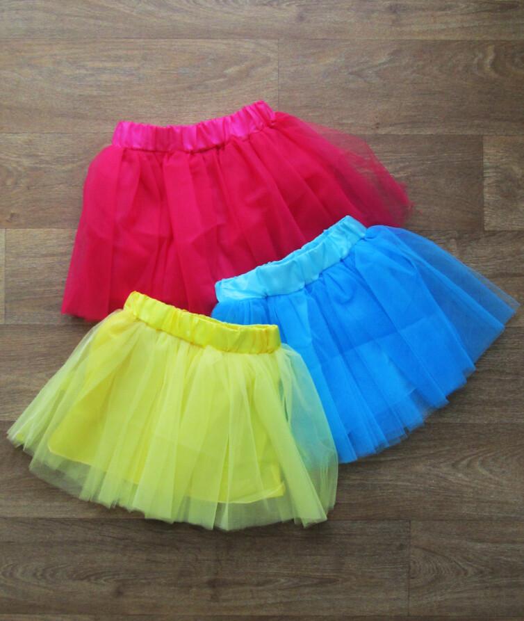 Детская юбка турецкая, фатин