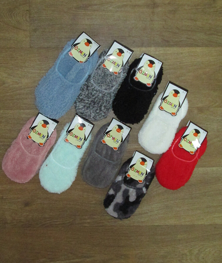 Детские носки - следы турецкие, махра