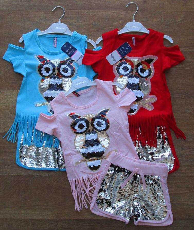 Летний костюм для девочки Турция