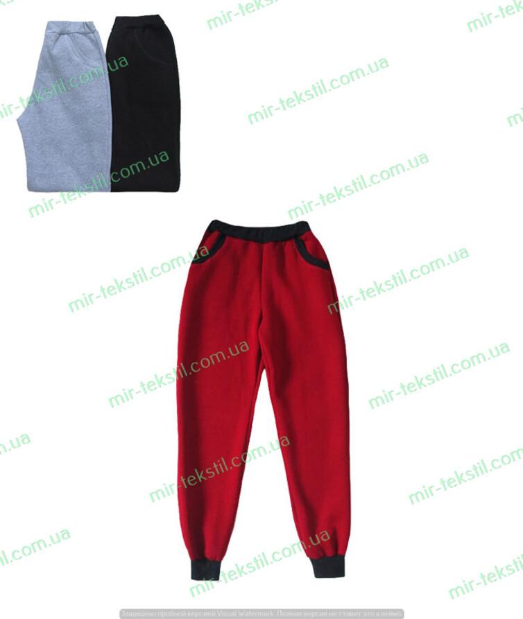 Теплые женские штаны трехнитка