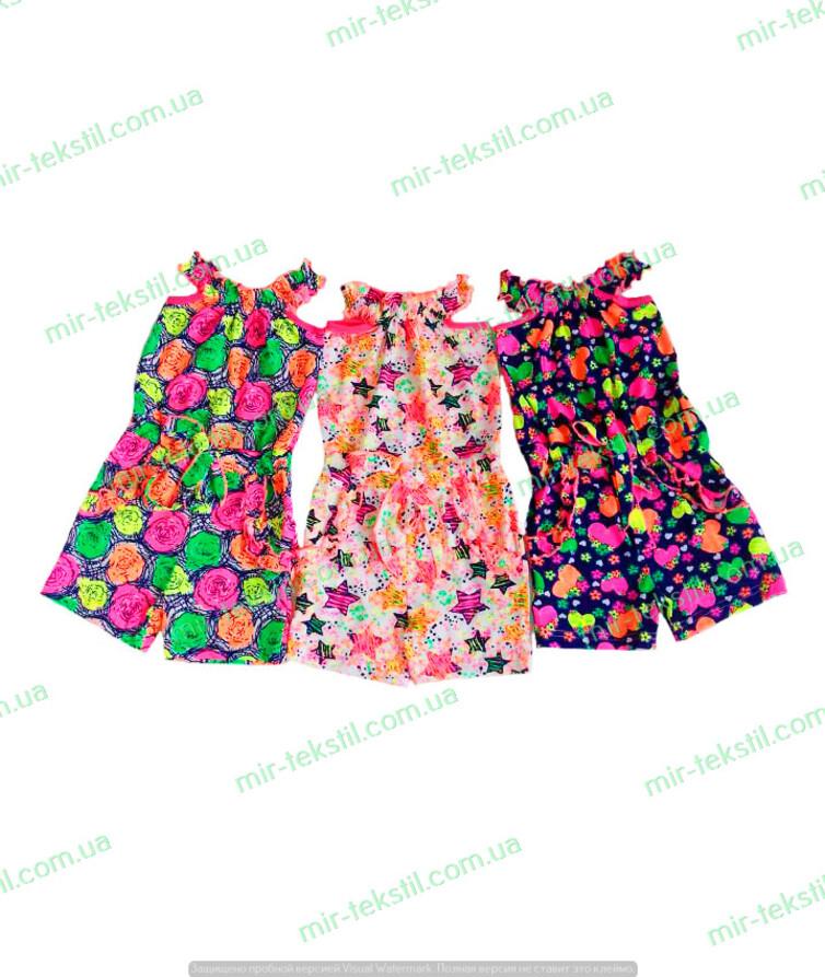 Комбинезон шортами для девочки