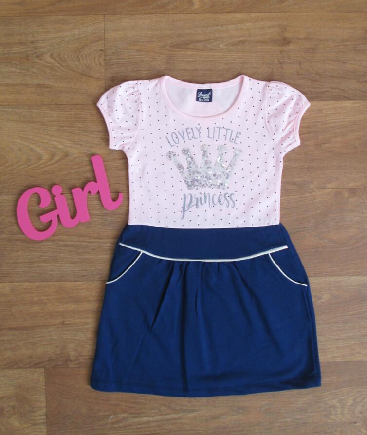Платье для девочки турецкое Lamond 100% коттон
