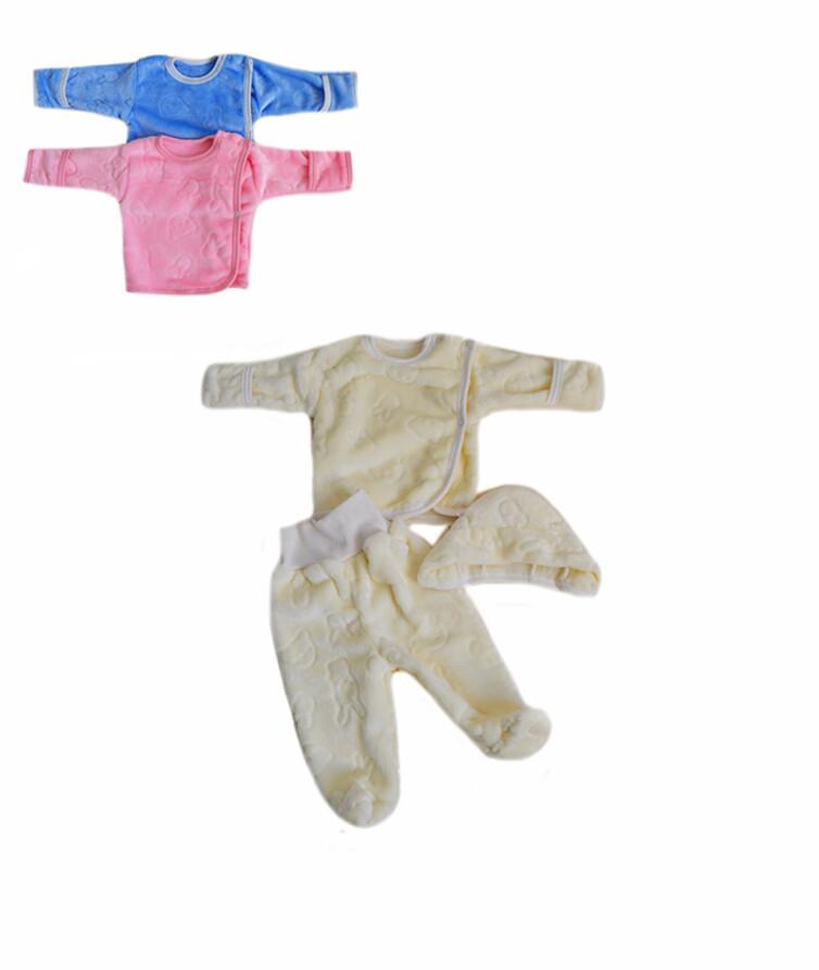 Махровый ясельный костюм, вельсофт