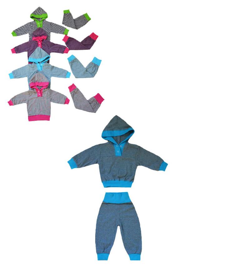 Ясельный спортивный летний костюм, кулир