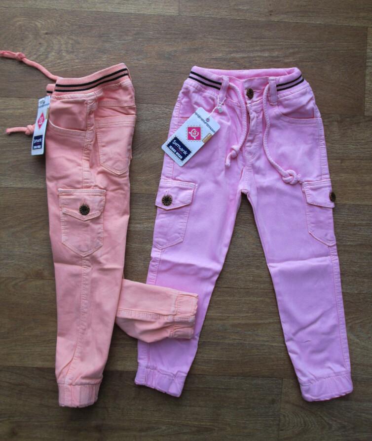 Детские (джинсы) джогеры на девочку Турция, джинс