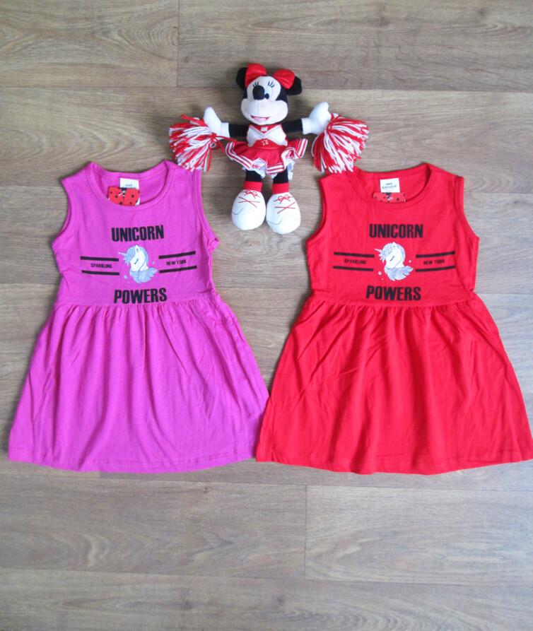 Платье для девочки летнее Турция Mini Citlenbik 100% коттон