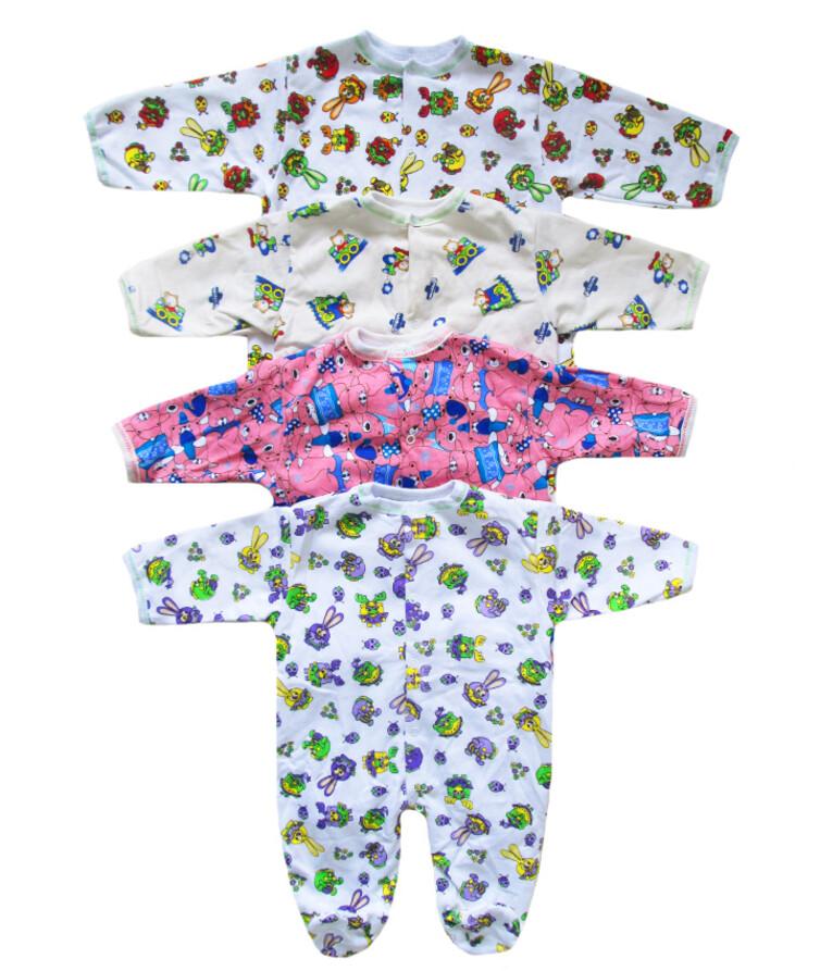 Комбинезон для малышей цветной, начес