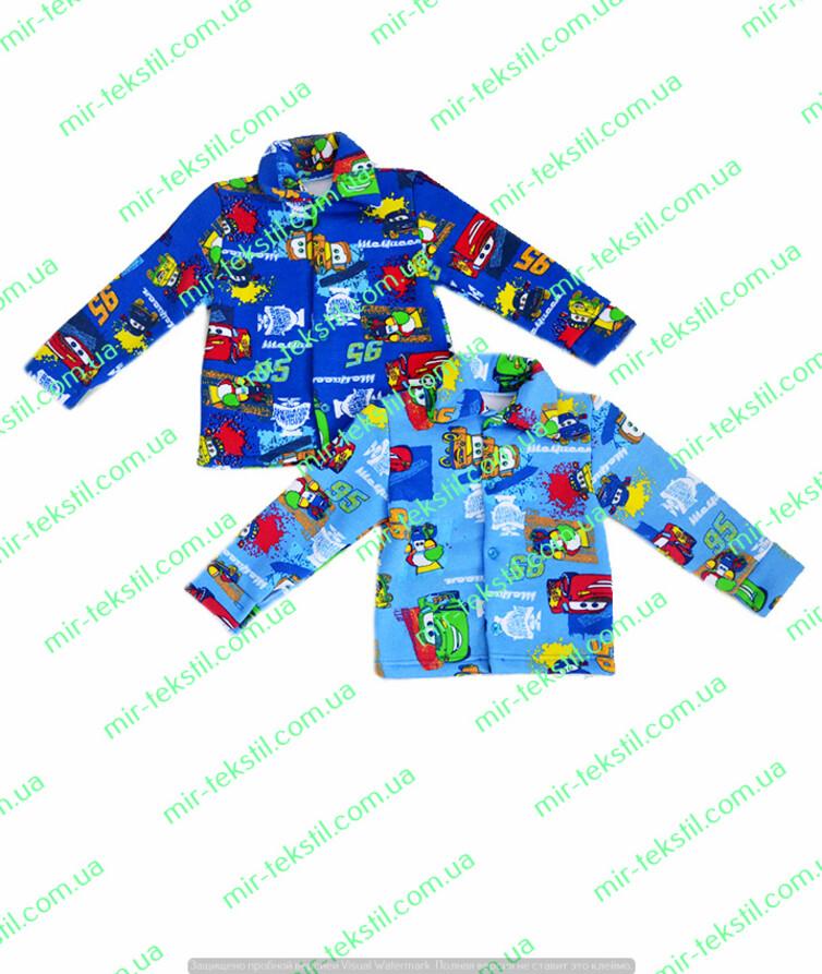 Рубашка для мальчика трехнитка цветная