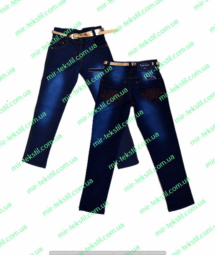 Темные джинсы на девочку