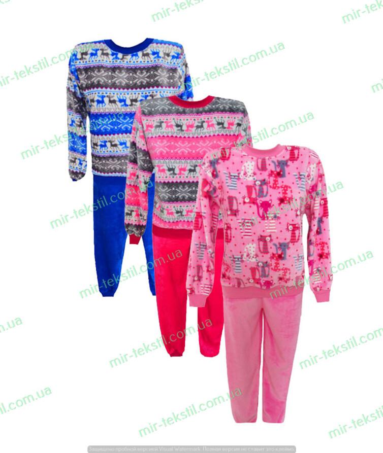Пижама женская махровая  зимняя