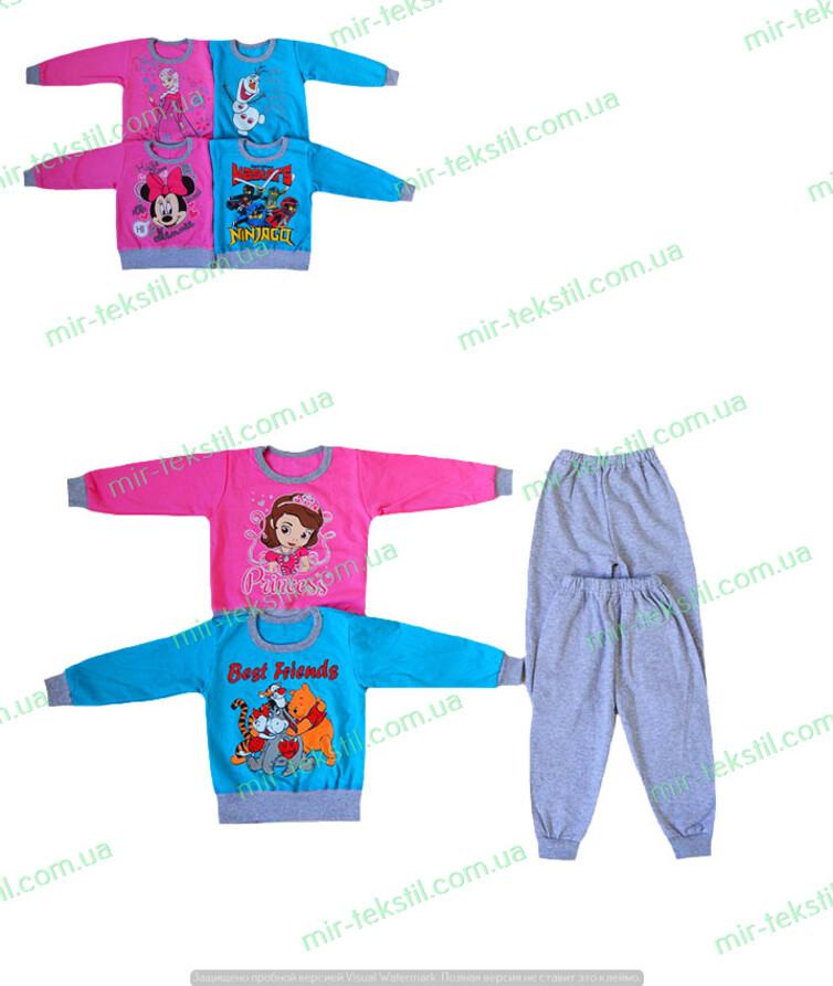 Пижама детская на байке под приклад