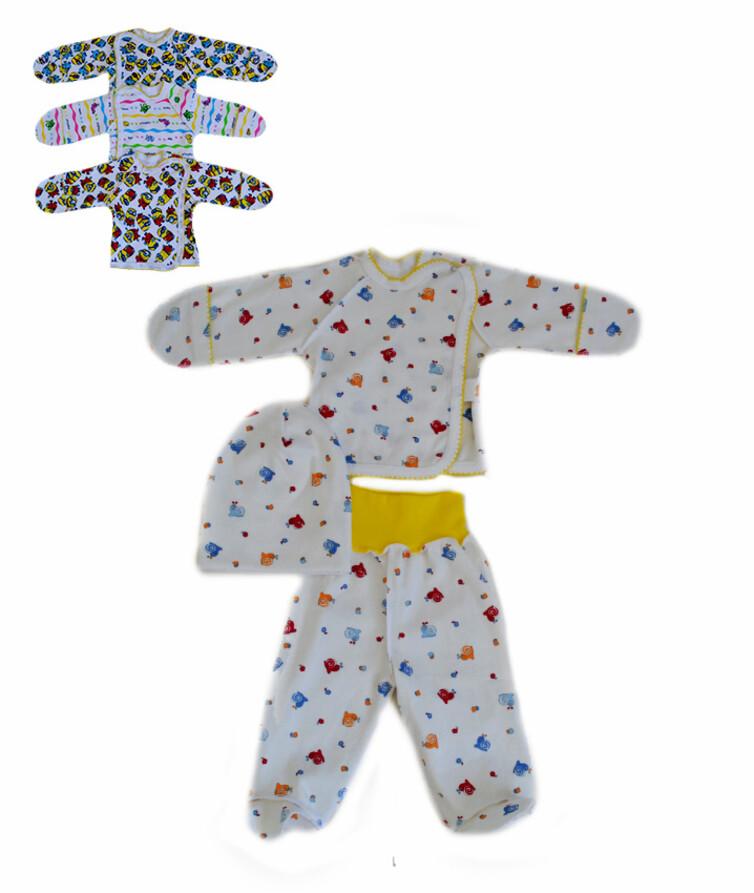 Комплект для новорожденных, интерлок