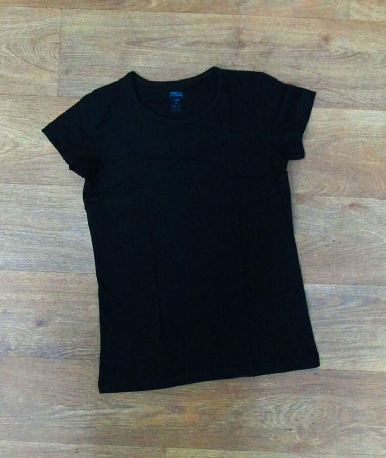 Турецкая женская футболка однотонная, стрейч кулир