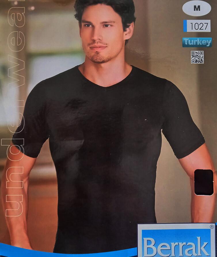 Турецкая мужская футболка, стрейч кулир