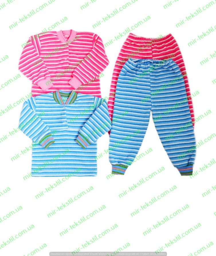 Детская пижама махровая