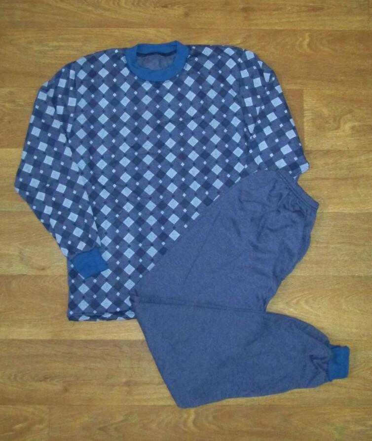 Мужская пижама с начесом