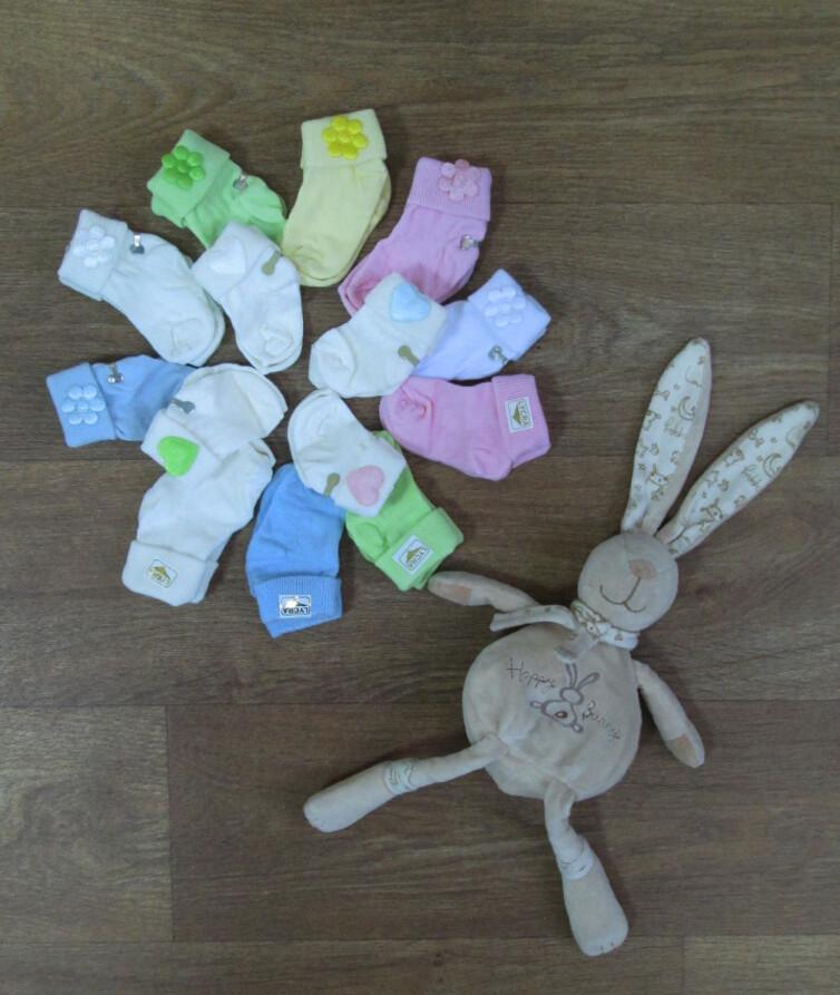Носки для новорожденного котон