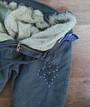 Джоггеры (джинсы) для девочки турецкие, на меху