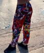 Женкие летние штаны (султанки) внизу на резинке, масло