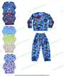 Детская пижама летняя с длинным рукавом
