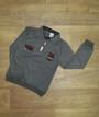 Детский джемпер - рубашка для мальчика Турция, рубчик начес